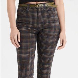 American Eagle Plaid Pants